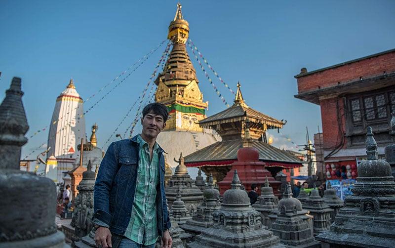 City motorbike kathmandu tour