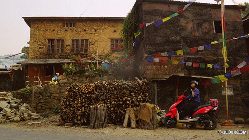 Kathmandu city motorbike tour