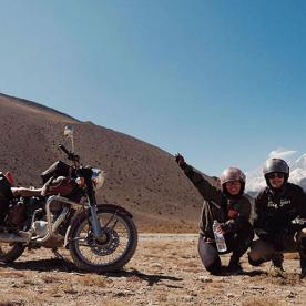 royal enfield bike trip in Nepal