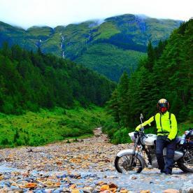 nepal motorbike tour company