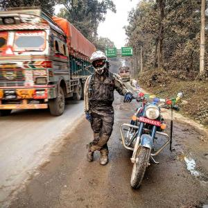 adventure motorbiking in nepal