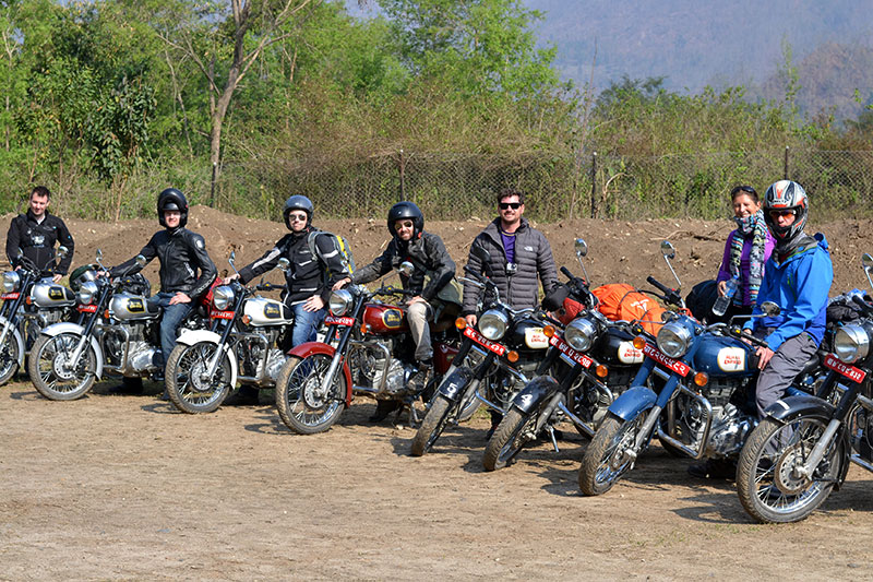 royal enfield tour nepal