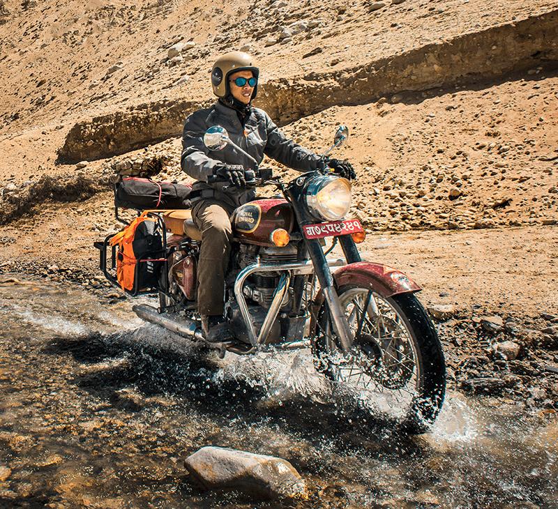 upper mustang motorbike tour nepal