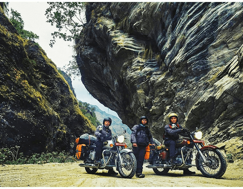 ride to uppermustang nepal