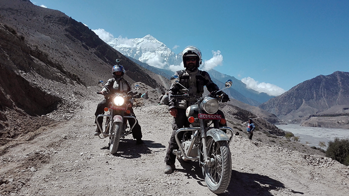 lower mustang motorbike trip