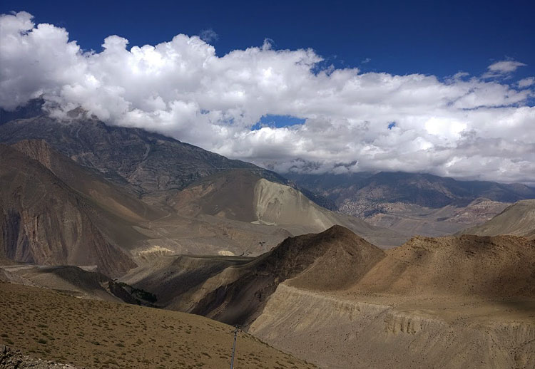 View from Mustang, Nepal