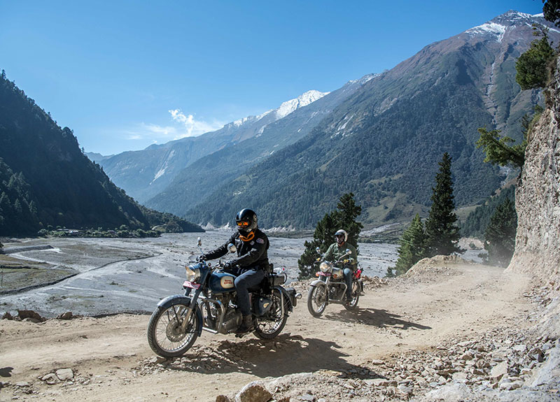 lower mustang bike tour photos
