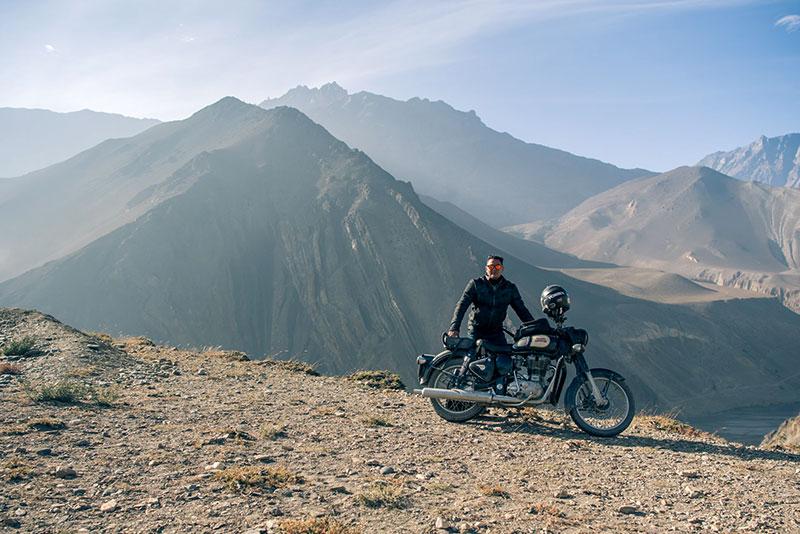 motorbike tour in nepal photos