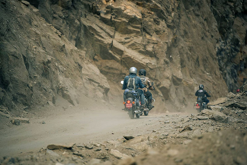 royal enfield trip nepal photos