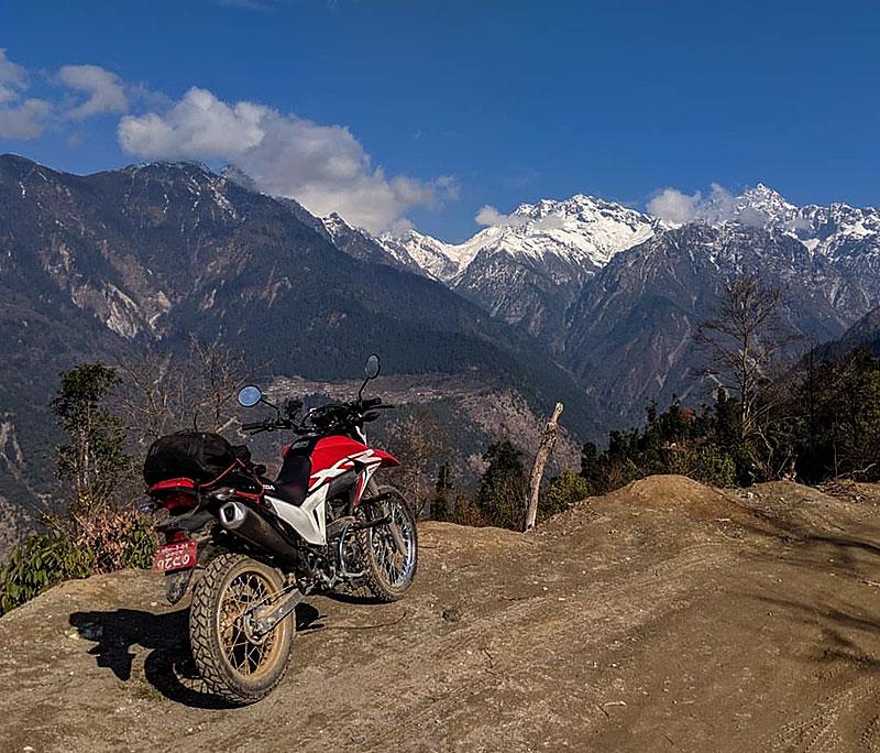 dirt bike hire in kathmandu