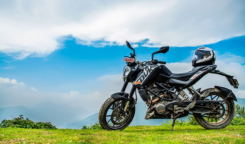 ktm duke hire in nepal