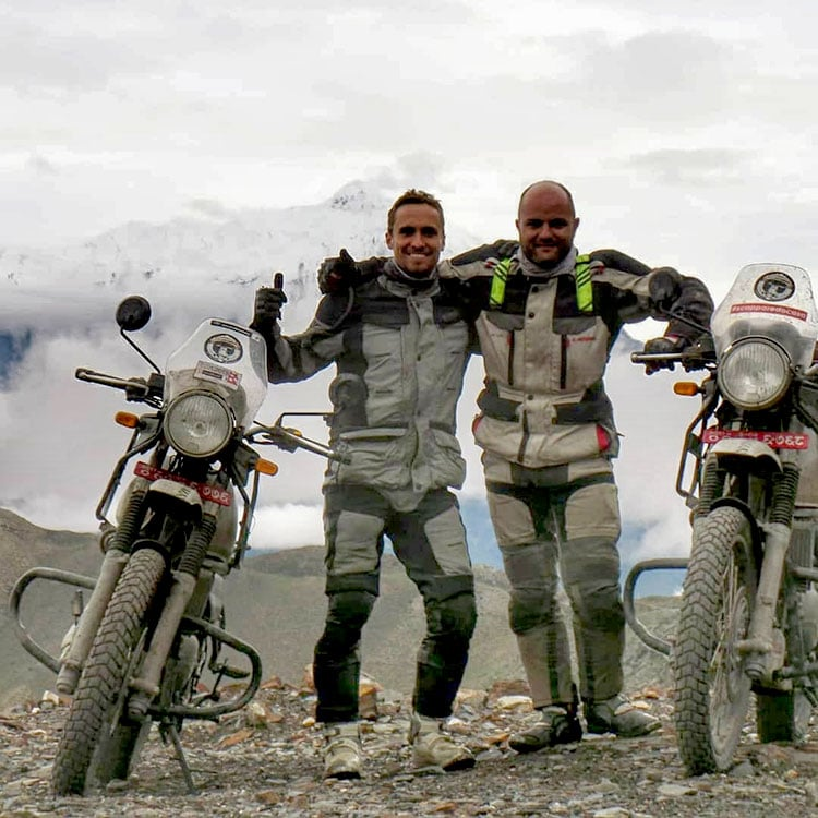 Motorbike tour to Everest view point