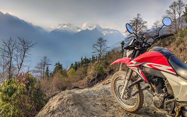 bike tour to Everest