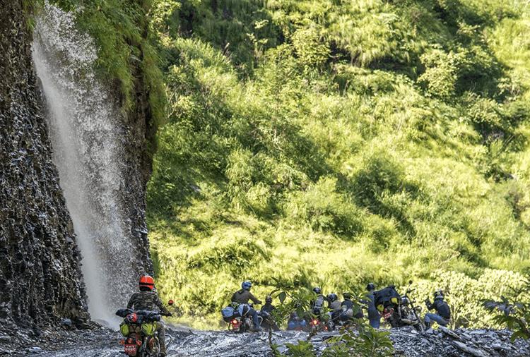 biking trip to lower mustang