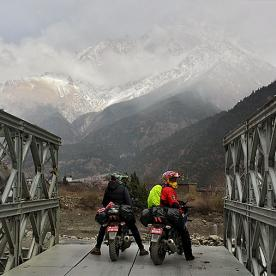 muktinath motorbike trip