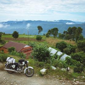 royal enfield motorbike tour in mustang
