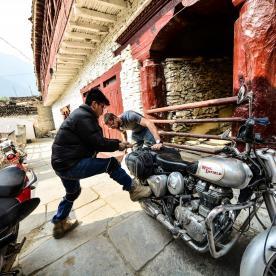 mustang trip nepal