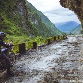 bike trip to upper mustang nepal