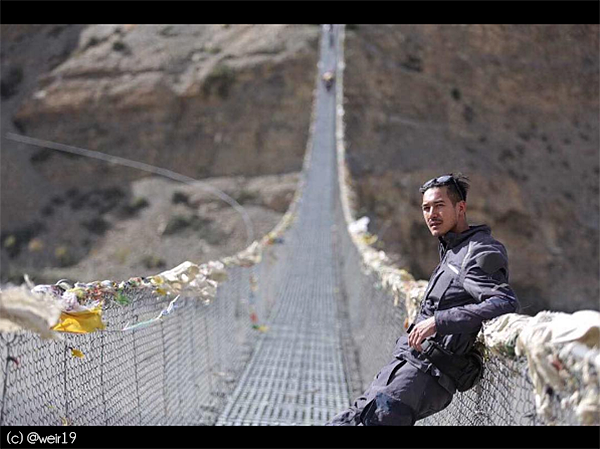 thai actor weir in nepal