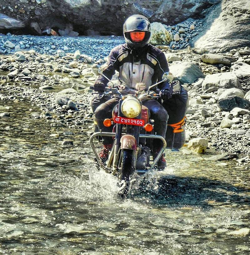 jomsom trip Nepal with citymotorbike