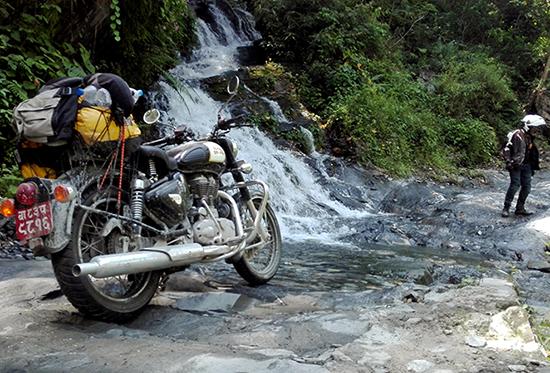 manang motorbike tour nepal