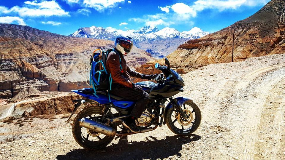 pulsar bike rent in nepal