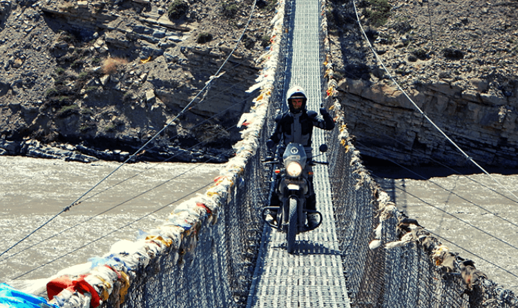 upper mustang motorcycle tour
