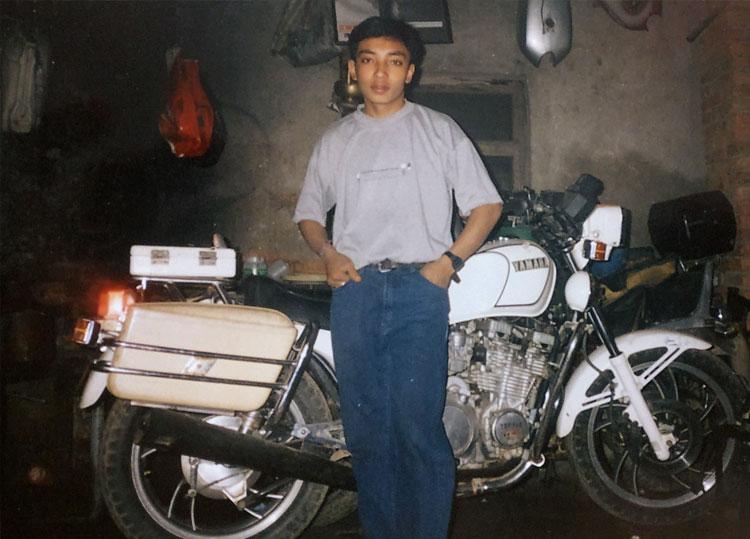 City Motorbike team member Buddha Ratna  Maharjan