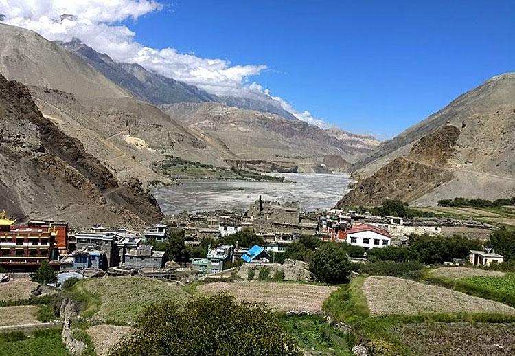 Kagbeni village, Nepal