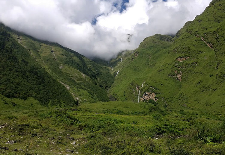 view from lete, Nepal