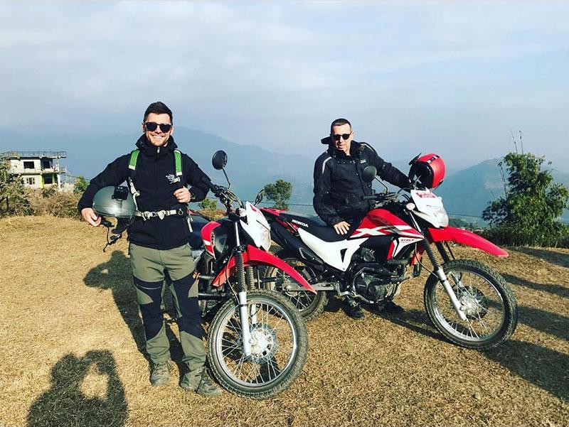 HondaXR190 rent in nepal