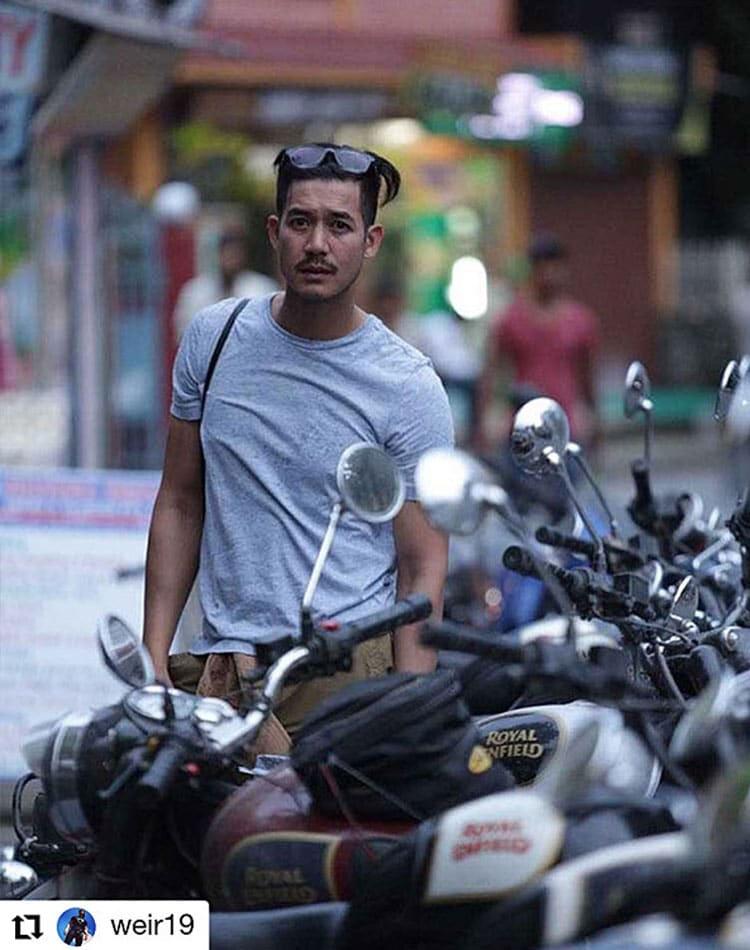 Mr. Weir in pokhara, Kathmandu