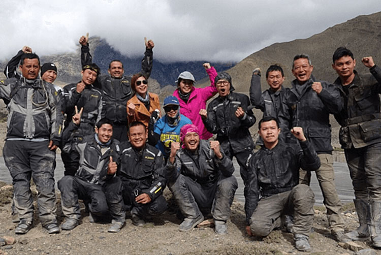 trip to mustang with weir sukollawat kanarot