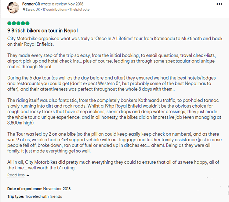 citymotorbike review on tripadvisor