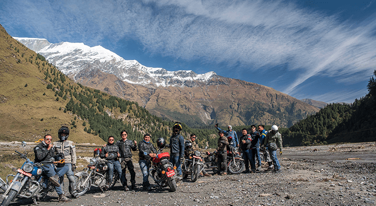 motorcycle rent in nepal