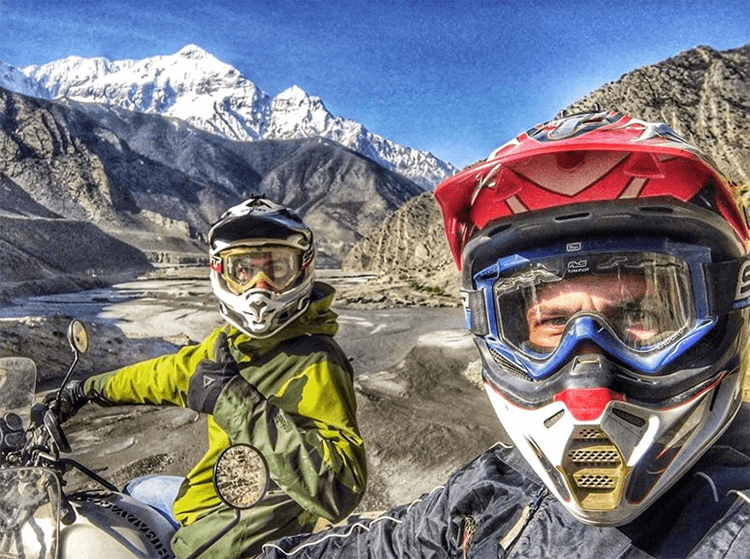 riding gears for motorcycle touring in nepal