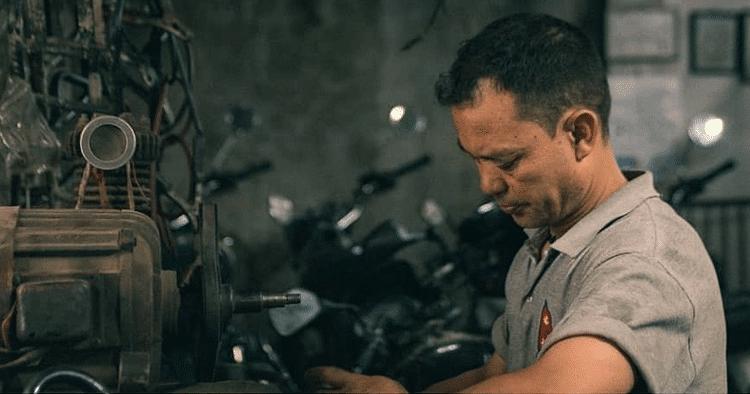 taking care of motorbike during lockdown period