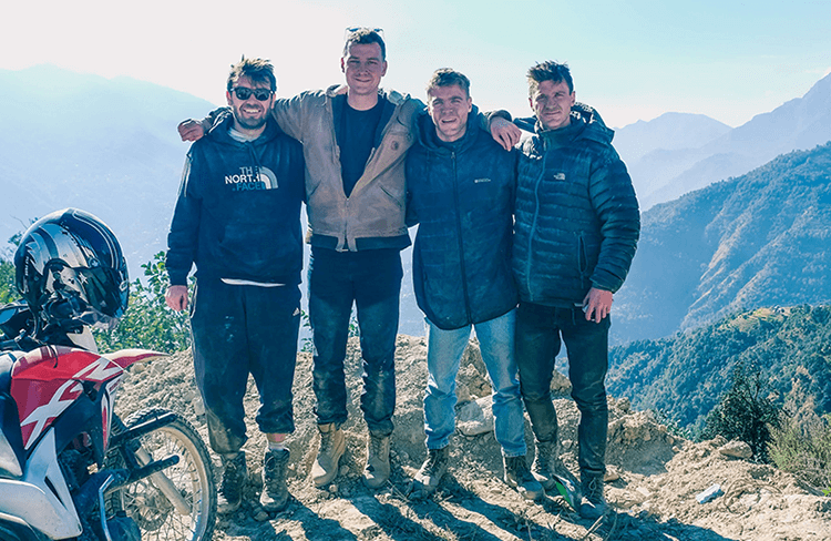 biking trip in nepal