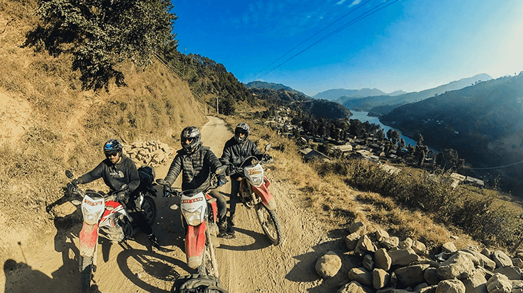 dirt bikes rental in nepal