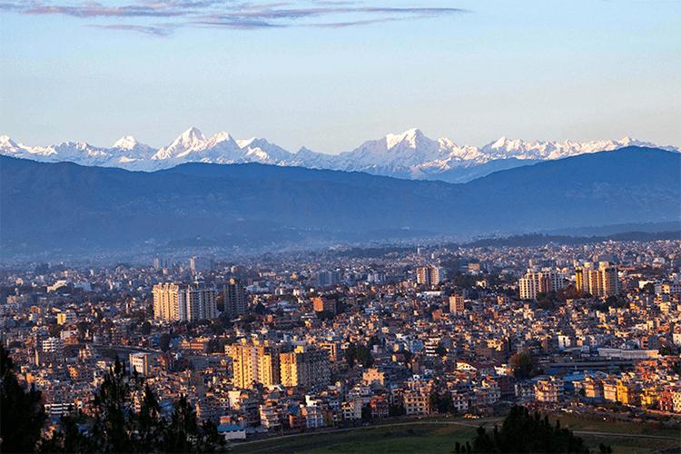 kathmandu valley see mt everest