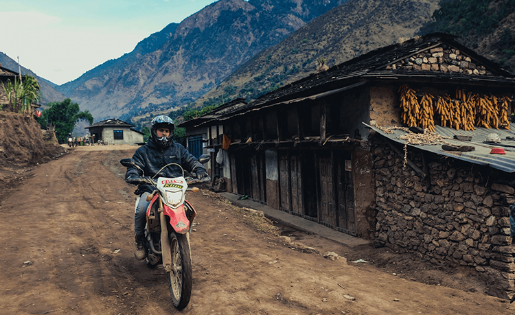 offroad ride in nepal