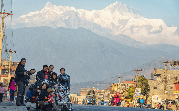 pokhara motorcycle tour