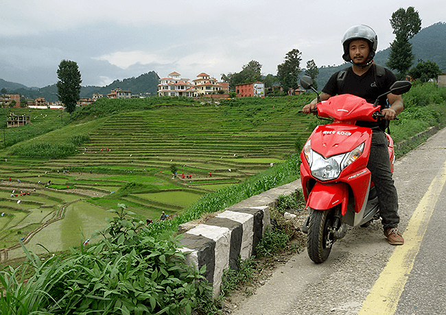 Rent Scooter and Motorcycle in Nepal