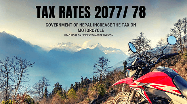 tax rates of vehicles in Nepal