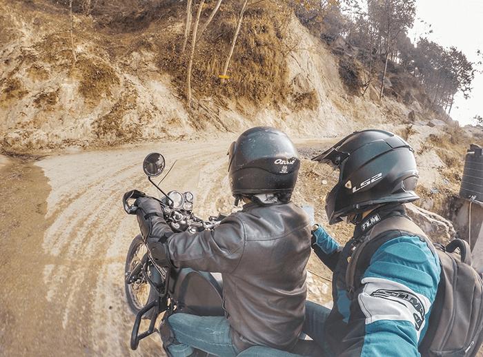 chisapani motorcycle trip