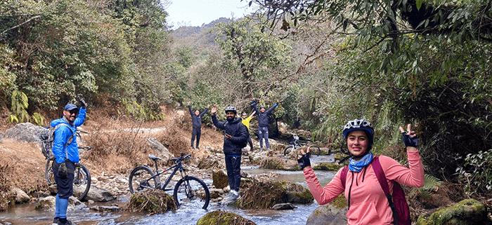 cycling in kathmandu