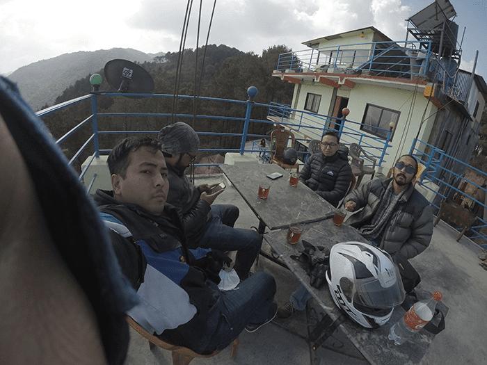 motorcycling trip around kathmandu