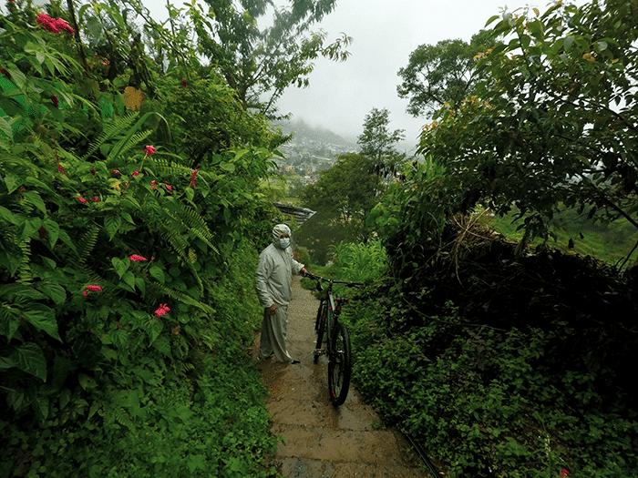 cycling in jhor kathmandu