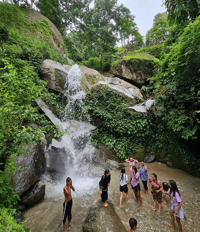waterfall in kathmandu